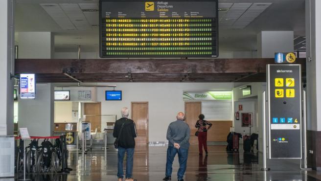 Imagen del Aeropuerto César Manrique de Lanzarote.