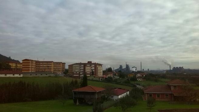 Contaminación en Gijón.