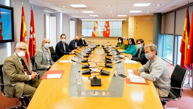 Reunión Grupo Covid