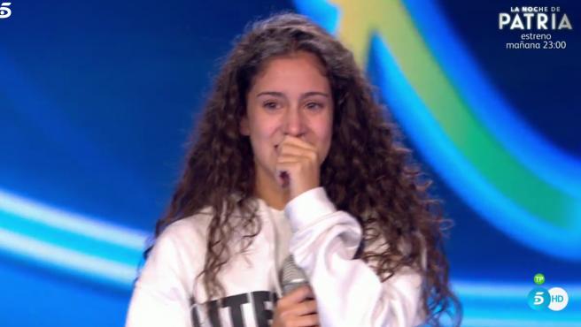 Aisha arrasa en 'Idol kids' y se convierte en la ganadora de Isabel Pantoja.