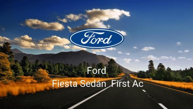 Ford Fiesta Sedán First Ac