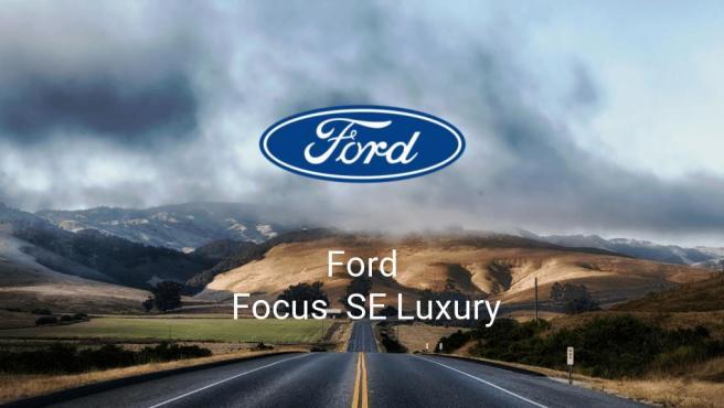 Ford Focus SE Luxury