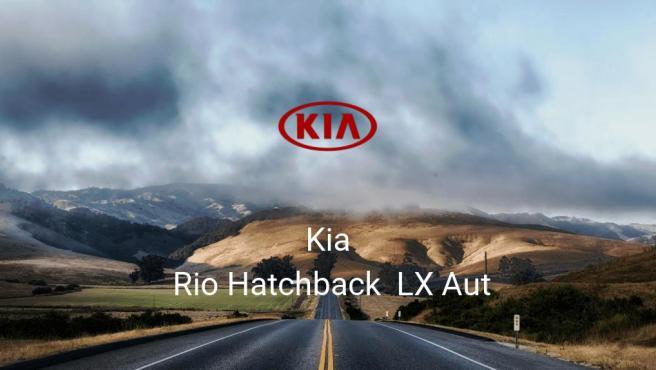 Kia Rio Hatchback LX Aut