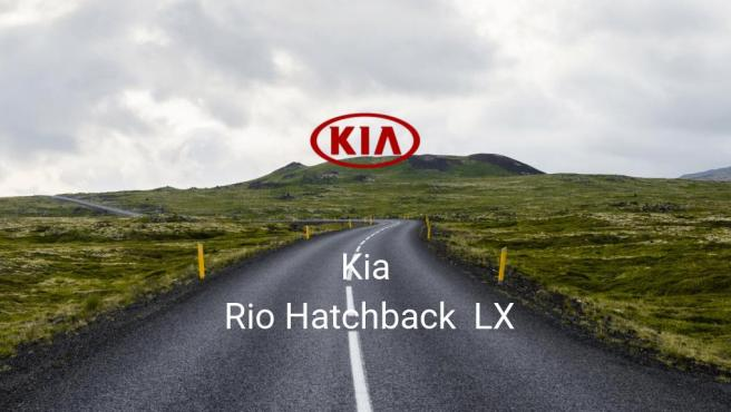 Kia Rio Hatchback LX