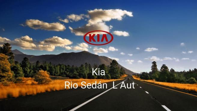 Kia Rio Sedán L Aut