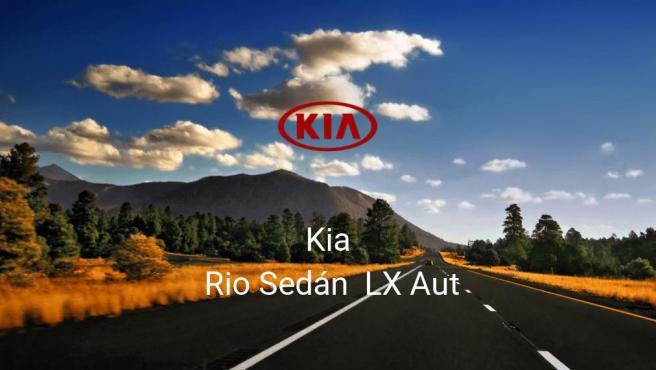 Kia Rio Sedán LX Aut