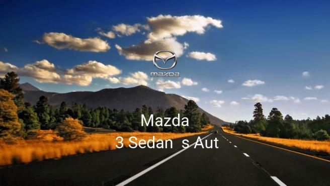 Mazda 3 Sedan s Aut