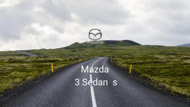 Mazda 3 Sedan s