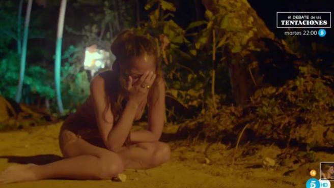 Melyssa, en 'La isla de las tentaciones'.