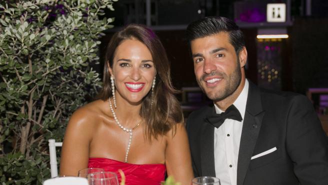 Paula Echevarría y Miguel Torres, el pasado mes de agosto en Marbella.