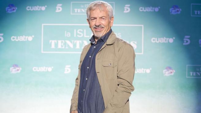 Carlos Sobera, presentador del debate de 'La isla de las tentaciones'.