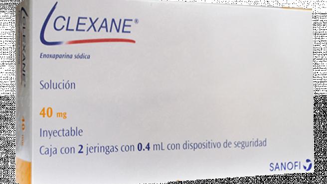 Clexane, uno de sus lotes ha sido retirado