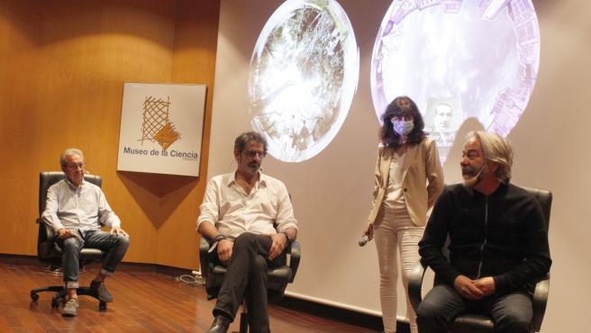 Presentación de la nueva proyección del Museo de la Ciencia de Valladolid.