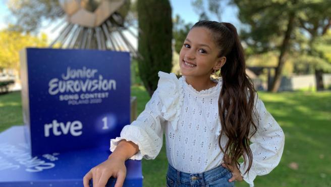La joven Soleá, que representará a España en Eurovisión Junior 2020.