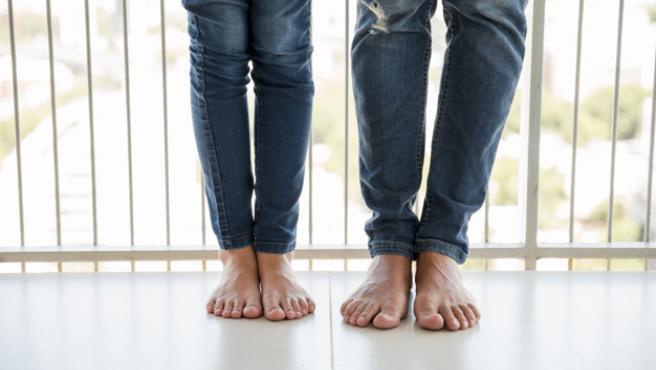 Los pies conectan mediante puntos reflejos con el resto del cuerpo.