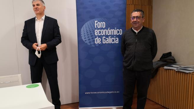 El director del Foro Económico de Galicia y uno de los autores del informe