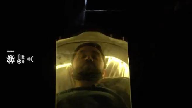 """Una imagen de la promoción del concurso 'Hazte el muerto""""."""