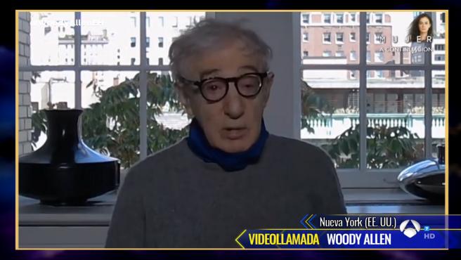 Woody Allen, en 'El hormiguero'.