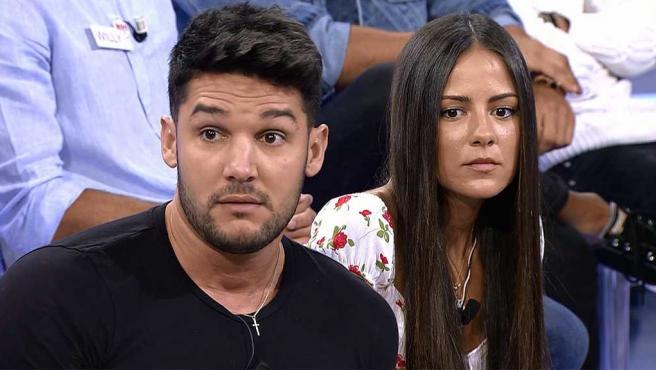 Alberto Santana y Melyssa Pinto en 'Mujeres y hombres y viceversa'.
