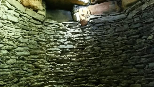 Cámara del 'tholos' calcolítico de La Pastora