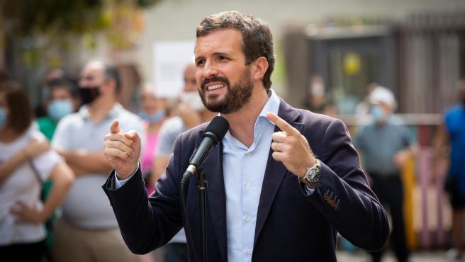 El presidente del Partido Popular, Pablo Casado, en una imagen de archivo.
