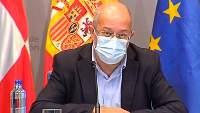 El vicepresidente y portavoz de la Junta de Castilla y León, Francisco Igea.
