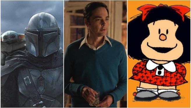 Estrenos de series y películas en octubre: de 'Los chicos de la banda' a 'The Mandalorian' 2T