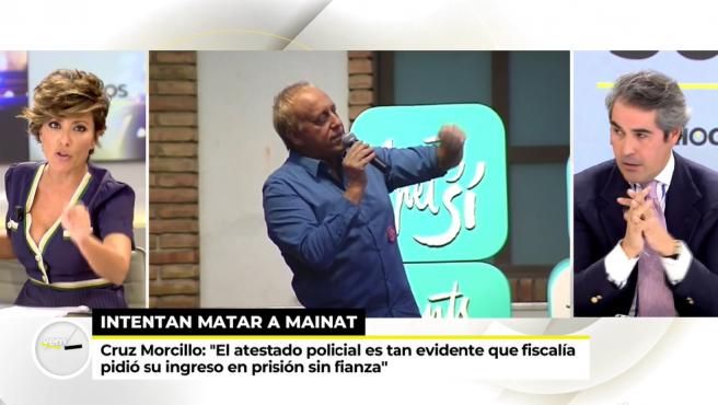 Sonsoles Ónega presenta 'Ya es mediodía'.