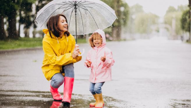Un paraguas bonito alegra hasta los días más grises.