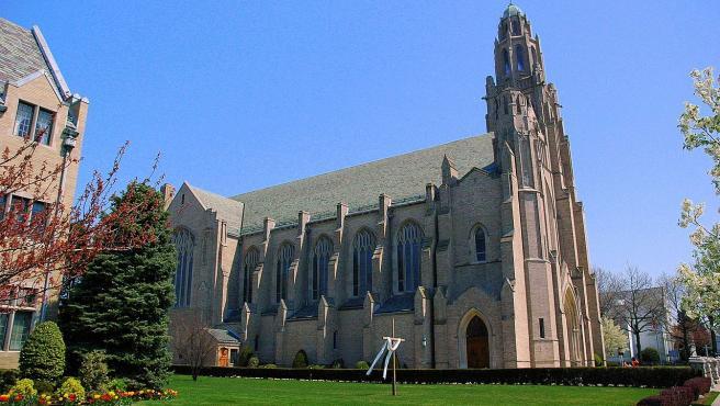 La catedral de St. Agnes, en la diócesis de Rockville Centre, en Nueva York (EE UU).