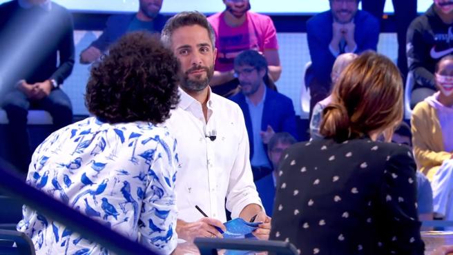 Raúl Gómez y Roberto Leal, en 'Pasapalabra'.