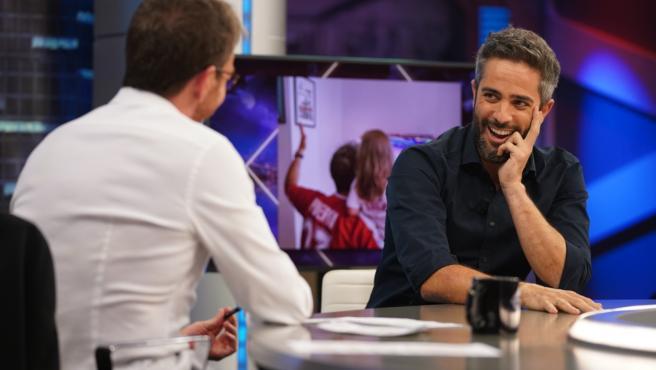Roberto Leal, en 'El hormiguero'.