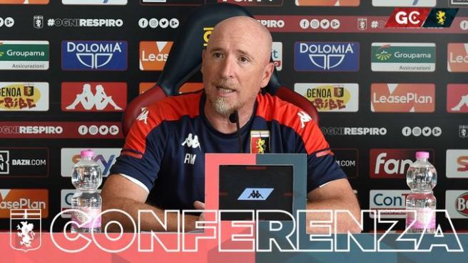 Rolando Maran, entrenador del Genoa.