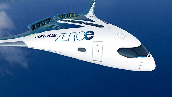 Los aviones ZEROe de Airbus se propulsarán con la combustión del hidrógeno
