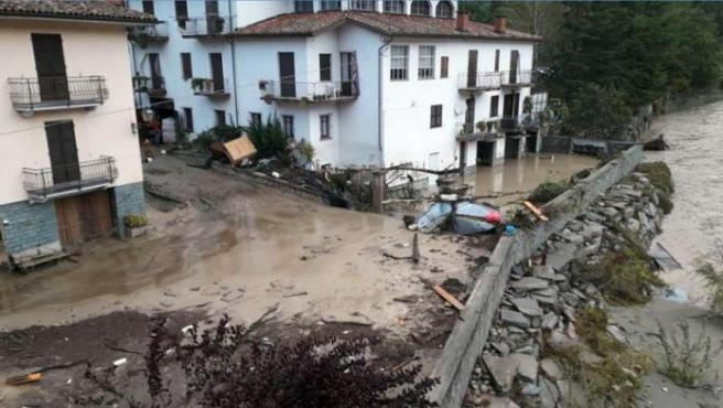 Dos muertos y 16 desaparecidos por el mal tiempo en el norte de Italia