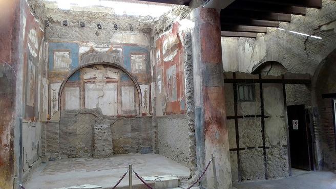 Imagen de las ruinas de Pompeya, en el sur de Italia.