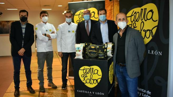 Carnero presenta los productos Tierra de Sabor presentes en el Congreso San Sebastián Gastronomika