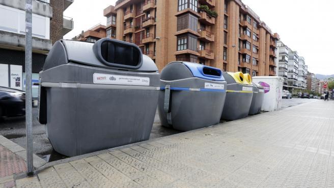 Contenedores en el municipio de Getxo