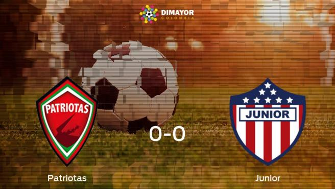 Patriotas Boyaca Junior Resultado Resumen Y Goles En Directo Del Partido De Futbol Del Torneo De Apertura De Colombia