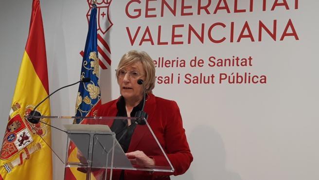 La consellera de Sanidad, Ana Barceló, en una imagen de archivo