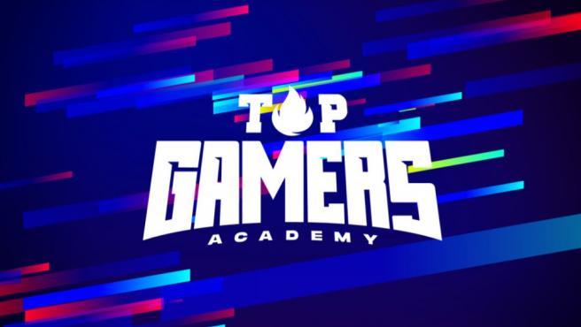 Logo de 'Top Gamers Academy'.