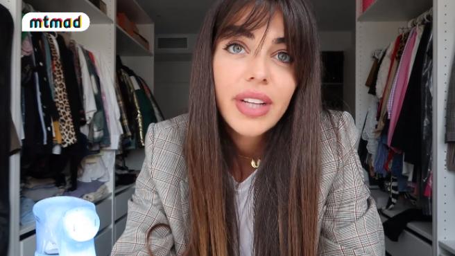 Violeta Mangriñán, en un vídeo para su canal de Mtmad, 'Ultravioleta'.