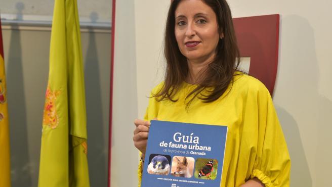 La diputada de Medio Ambiente y Protección Animal, María del Carmen Fernández.