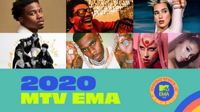 MTV EMA 2020.