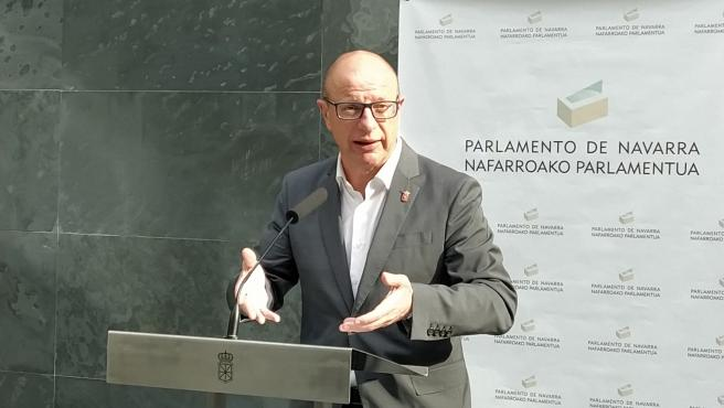 Carlos Gimeno, consejero de Educación del Gobierno de Navarra