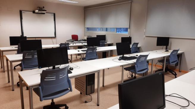 Imagen de un aula de la Universidad Popular