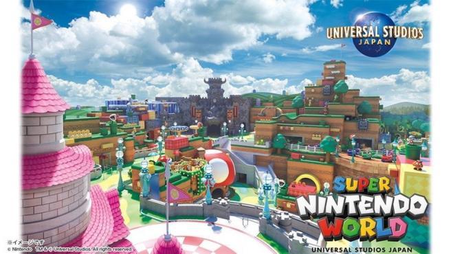 Super Nintendo World, en Universal Studios Japón.