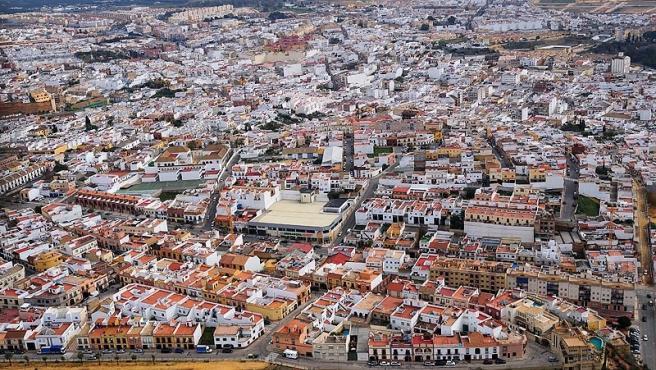 Vista aérea de Alcalá