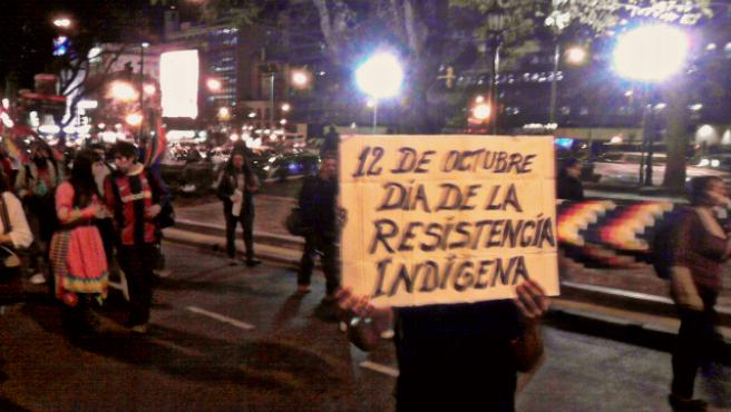Marcha del 12 de octubre de 2012 en Buenos Aires..