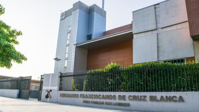 Sede de la Casa Familiar de San Lorenzo de la Fundación Cruz Blanca en Huesca.